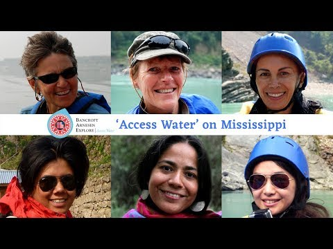'Access Water' on Mississippi | Meet all women international expedition team