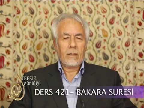 421-TEFSIR GUNLUGU-MAHMUT TOPTAŞ-BAKARA SURESİ (AYET 109 115)-ŞİFA TEFSİRİ