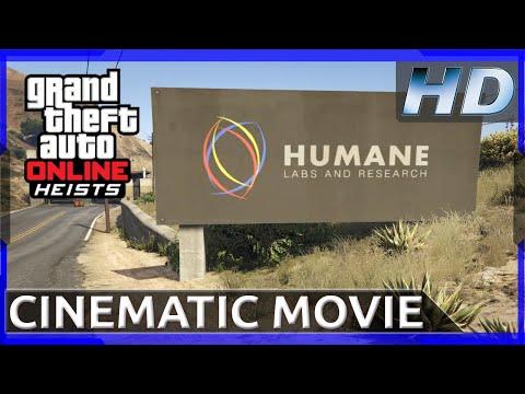 GTA 5 - The Humane Labs Raid  [Rockstar Editor Movie] HD