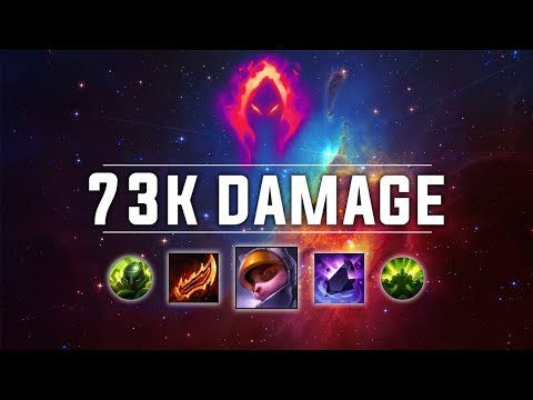 73K DAMAGE! Dark Harvest Teemo is AMAZING!! - Ranked Solo Preseason 9