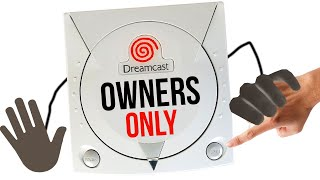 10 Things Only DREAMCAST Owners Will Remember