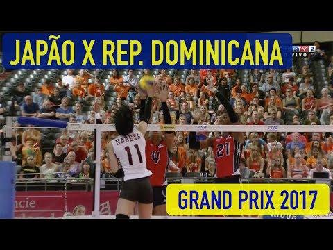 Japão x República Dominicana - Grand Prix de Volei Feminino 2017