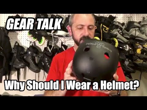 Why Should I Wear a Helmet when Inline Skating?