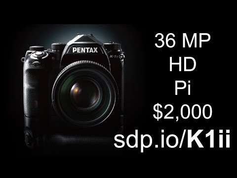 Pentax K-1 Mark II Preview: Handheld Pixel-Shift, 36 MP, $2,000!