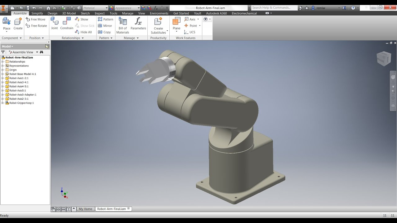 how to make surfacic on cylinder inventor