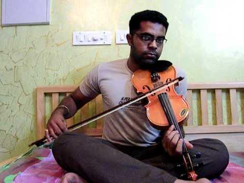 Ennavale / Sun ri sakhi in violin by Subramoni Rengarajan