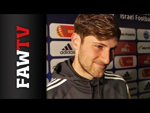 Ben Davies Israel post-match reaction
