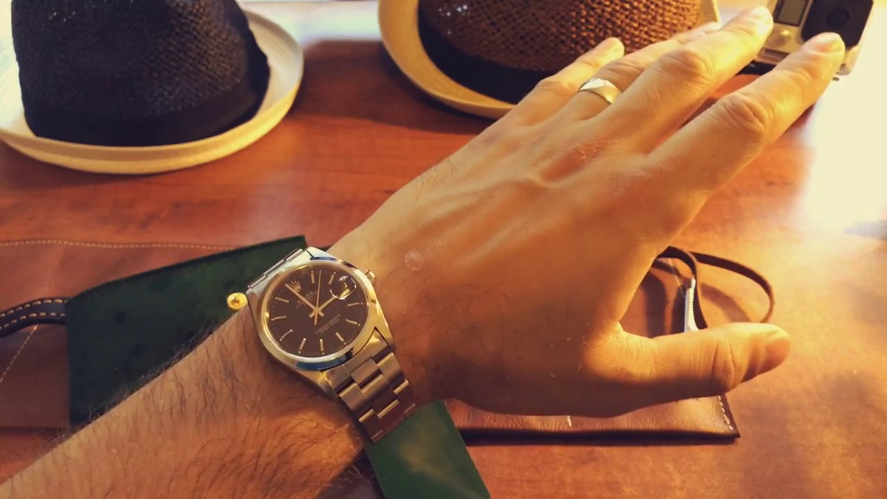 How to wear a watch 61