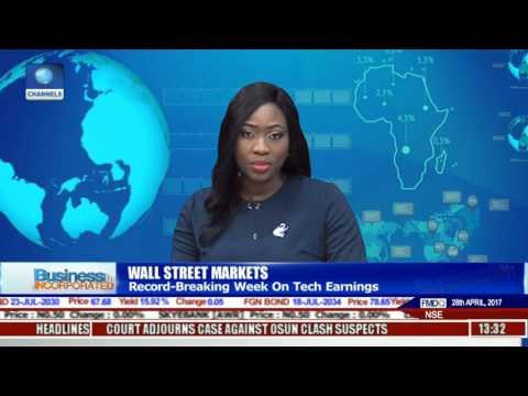 Wall Street Markets: Record Breaking Week On Tech Earnings