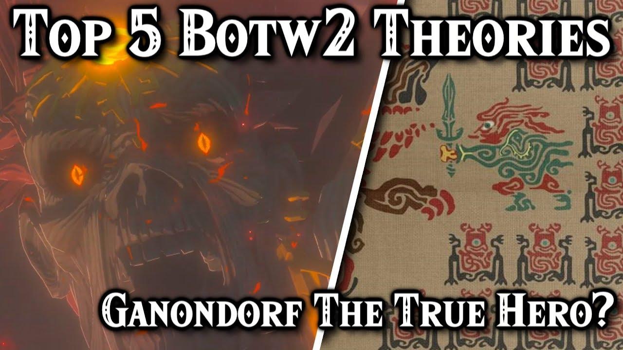 Top 5 Zelda Breath Of The Wild 2 Ganondorf Theories