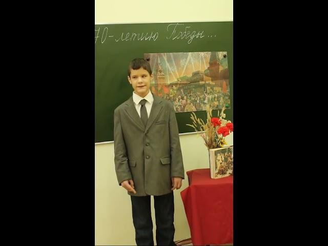 Изображение предпросмотра прочтения – ЧемикосДмитрий читает произведение «Сороковые» Д.Самойлова