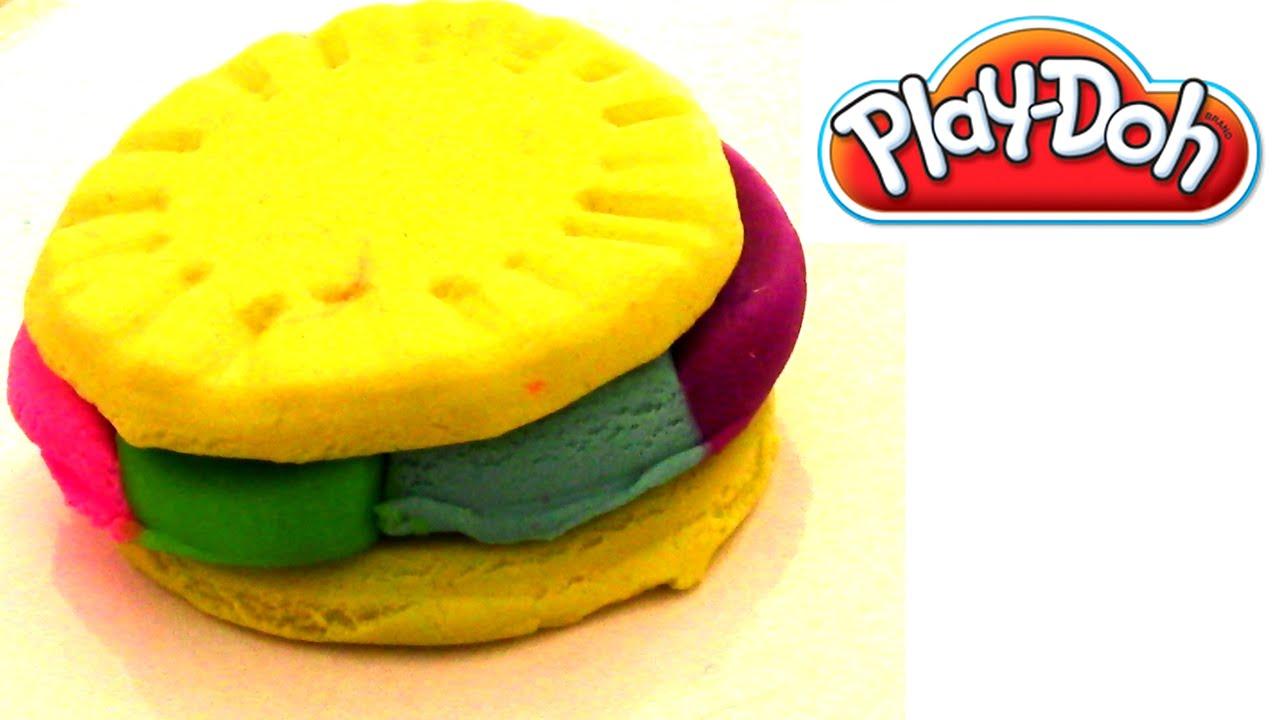 play doh knete i regenbogen cookies selber machen i einfache kekse selber machen youtube. Black Bedroom Furniture Sets. Home Design Ideas