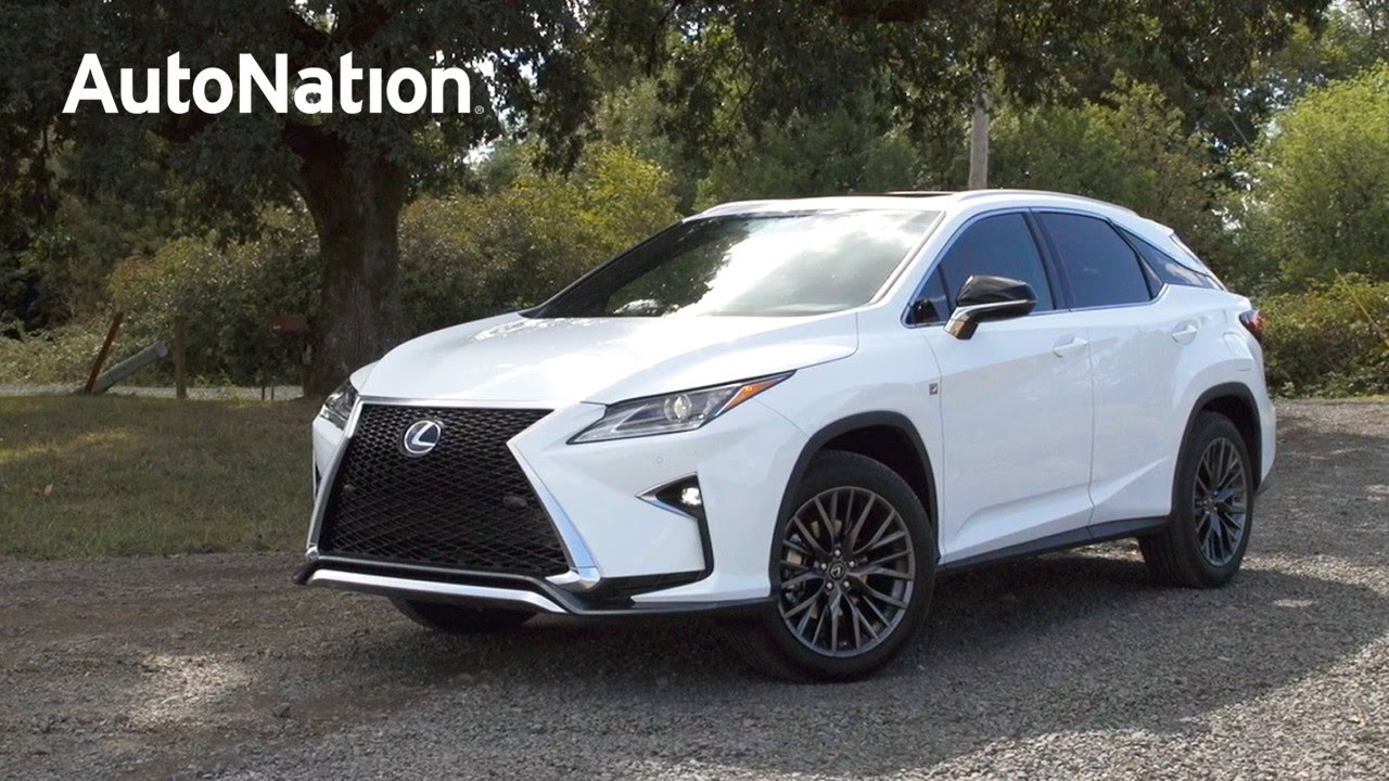 Superior 2016 Lexus RX F Sport Review   AutoNation   YouTube
