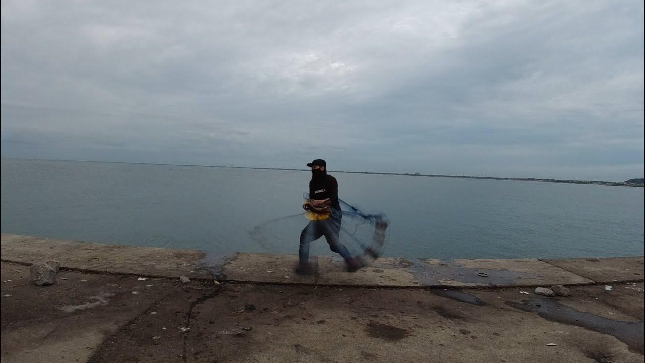 【VLOG25】海投網 コウイカ シリヤケイカ 今年もサバゲー 2021.06 castnet