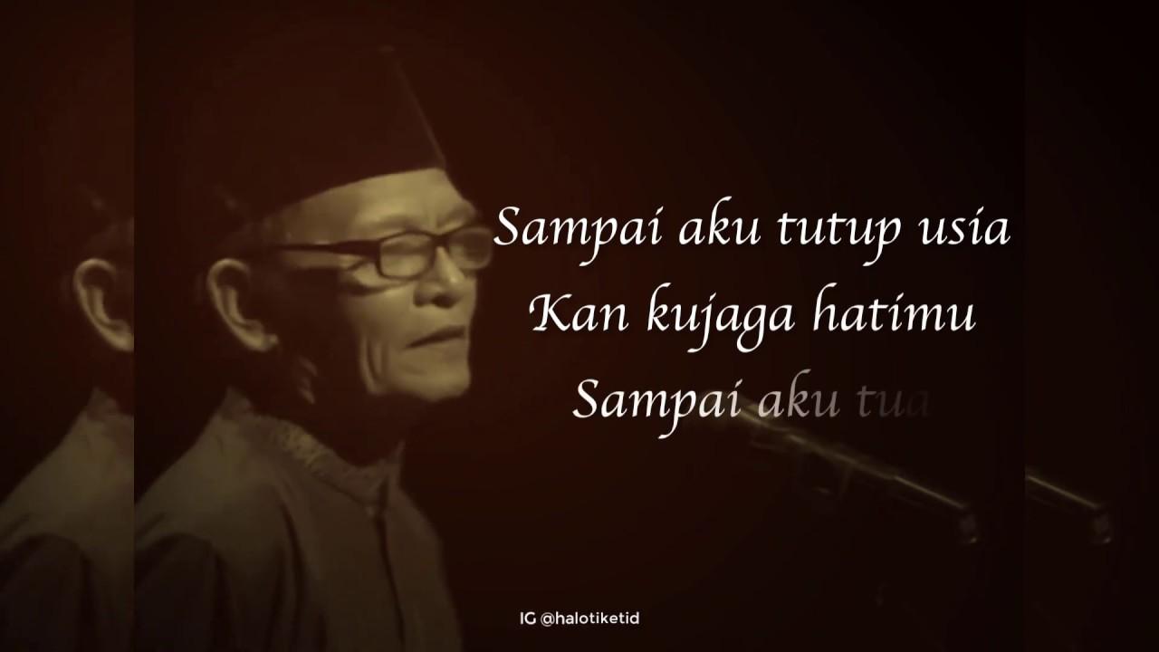Zawawi Imron Puisi Rindu Youtube