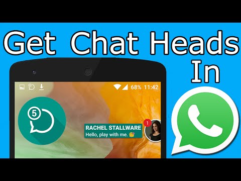 How To Get Chat Heads In WhatsApp (No Root)