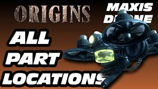 "How To Build Maxis Drone ""Black Ops 2 Zombies"" Origins Maxis Drone Part Locations"