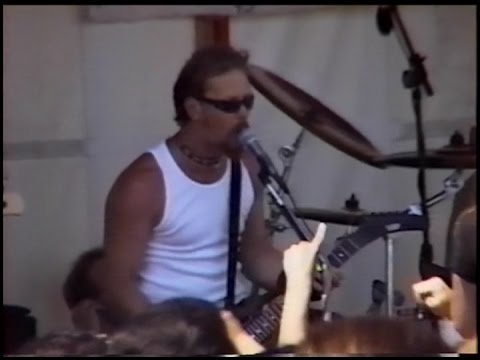 Metallica - LOAD's Release Day Promotional Live Parking Lot Gig (1996) Show 1/2