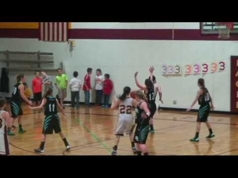 OR 1A Girls  Hosanna Christian at Damascus Christian  2 28 14