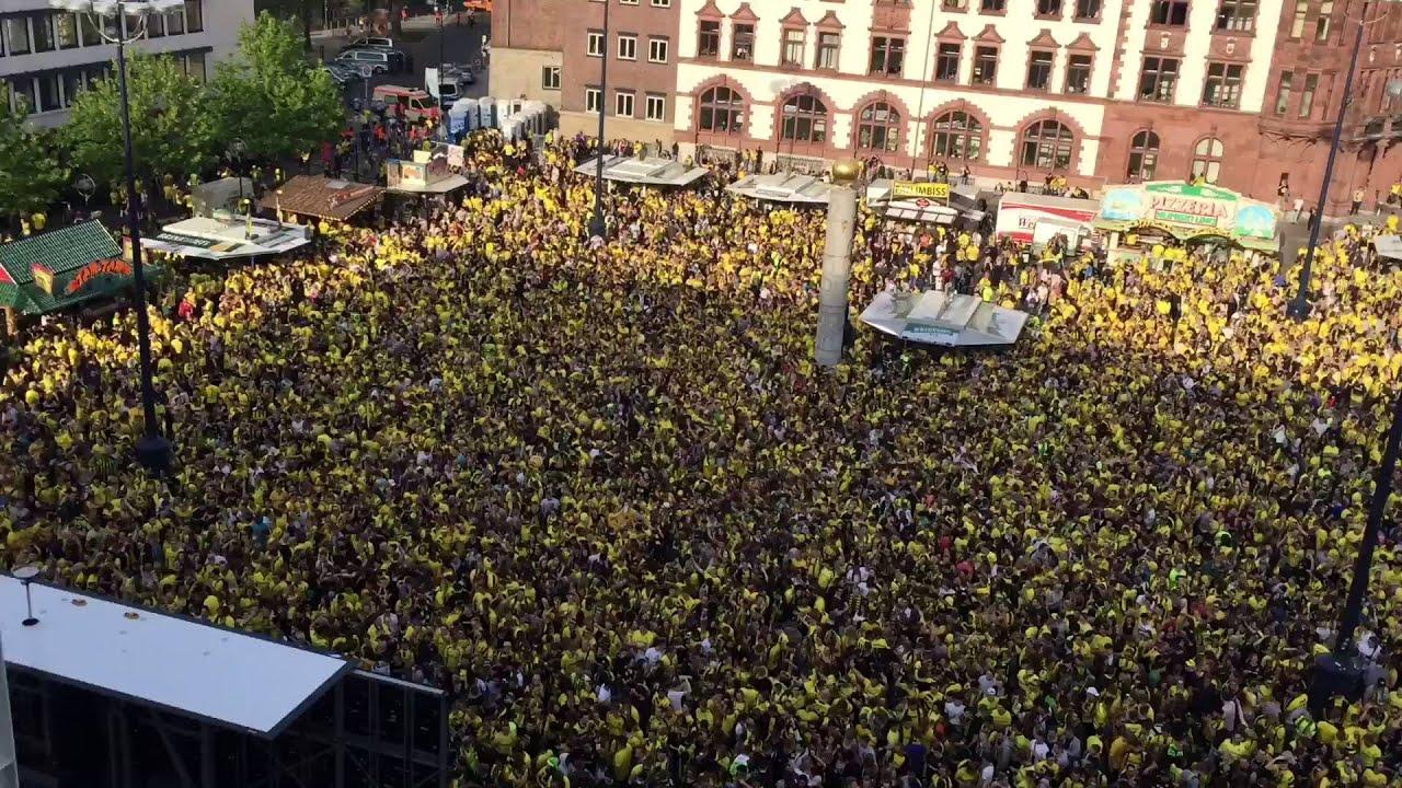 Public Viewing Dortmund Friedensplatz