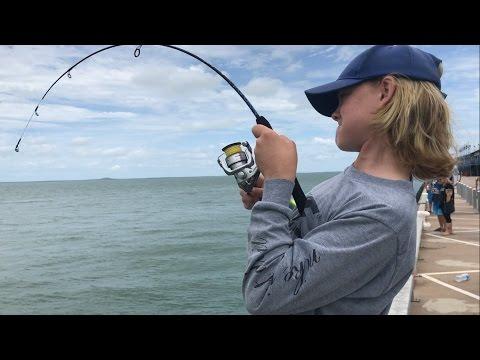 DARWIN NT WHARF FISHING/BOWFISHING FT. JORDIE CARROLL