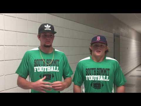 South Summit High School football 2017, Parker Grajek and Porter Fox
