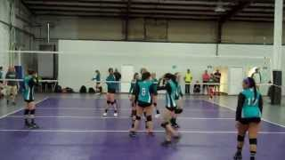 Dune's Volleyball Classic 2014 - 14u Open - 1st round of playoff (pt 5)