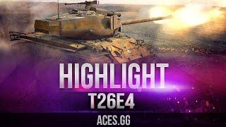 Кто понял жизнь, тот не спешит! T26E4 SuperPershing в World of Tanks!