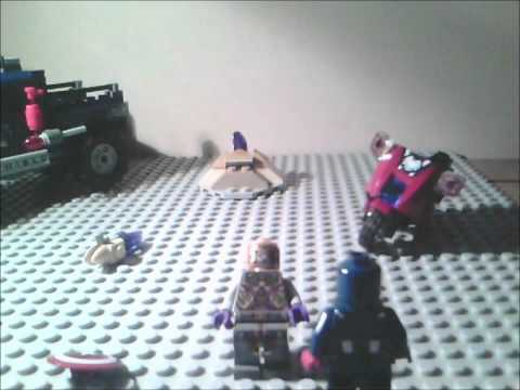 LEGO ironman Loki move mini clip's
