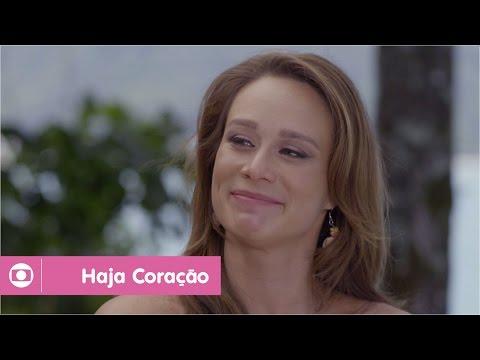 Haja Coração: capítulo 136 da novela, terça, 8 de novembro, na Globo
