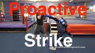 Proactive Strike Boxing Drill - Mayweather Style