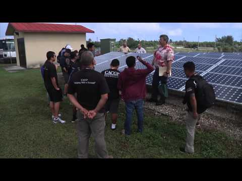 Guam Community College Students Visit Naval Base Guam