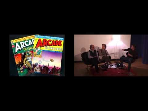 Art Spiegelman and Françoise Mouly in Conversation with Jeff Smith • October 3, 2015