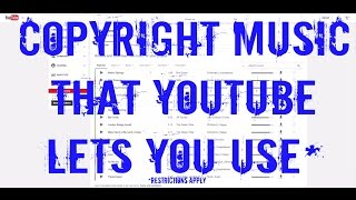 How To Legally Use Copyrighted Music in Your YouTube Videos