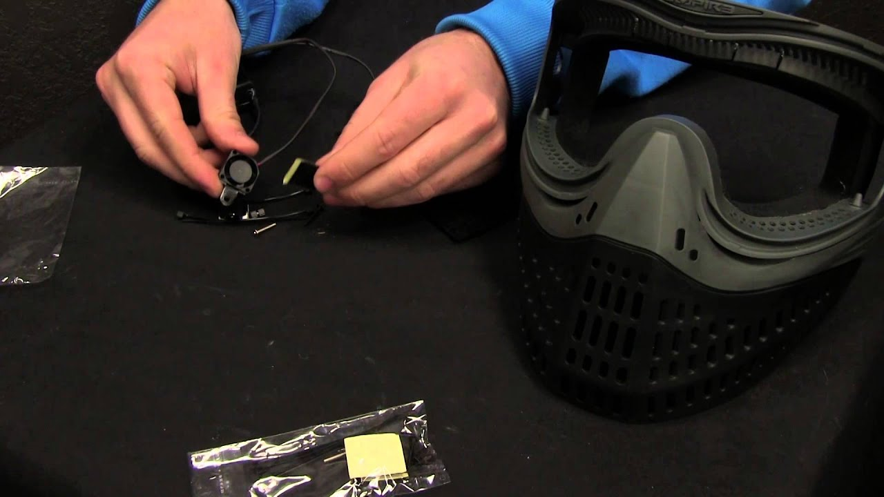 EZ Creations FANZ-20 Paintball Mask Fan Kit Review & Demo by HustlePaintball.com