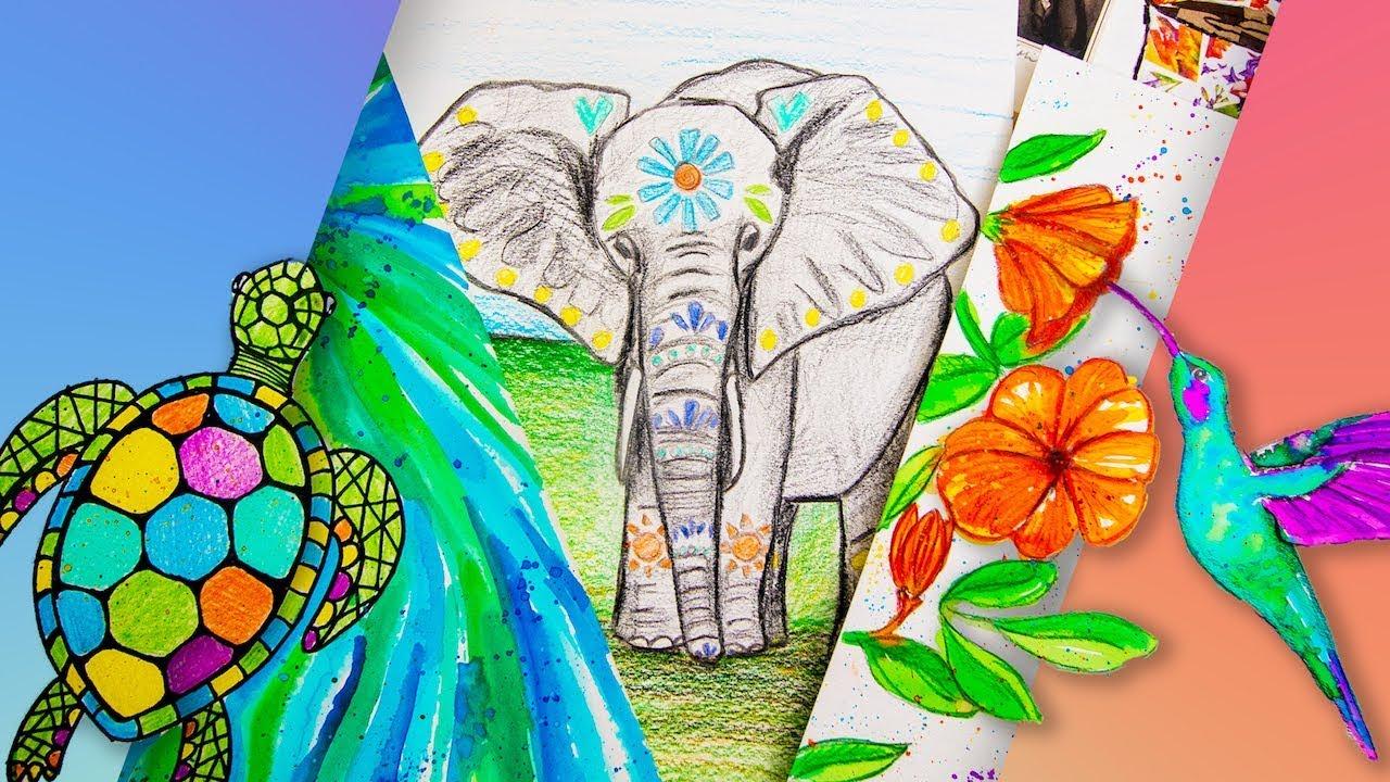 New Online Art Class for Beginners & Kids - Video School Online