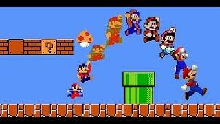 Super Mario Bros - прохождение на русском языке (с варпами) (60 fps)