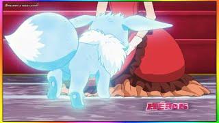 Pocket Monster Pokemon XYZ Temporada 19 Un Encuentro Ventoso