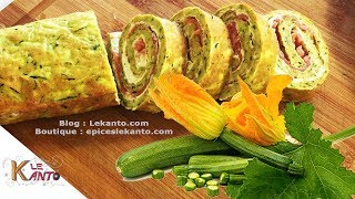 Zucchini   Smoked Salmon Courgette Roulade