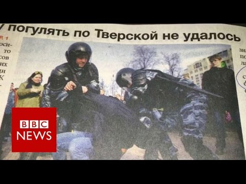 Navalny arrest: Russian press on opposition protests - BBC News
