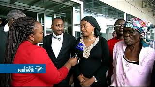 Tsvangirai's widow Elizabeth arrives ahead of repatriation of his body