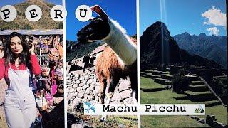 CONHECENDO MACHUPICCHU - PERU PARTE 2