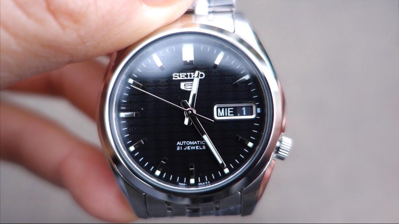 Seiko Snk361 Watch Unboxing Seiko 5 Automatic Hd Youtube