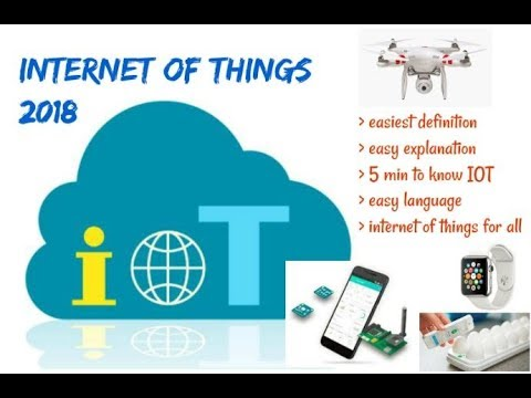 Internet of things 2018|| IOT|| How it works: Easy explanation