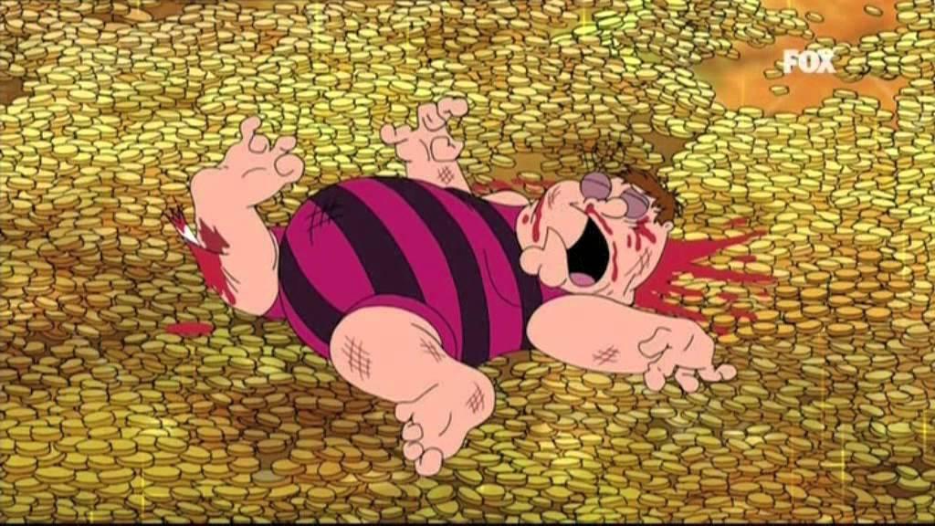 Peter y la piscina de monedas  YouTube