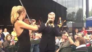 Chris Botti & Caroline Campbell  at Cht. St. Michelle 7-25-1...