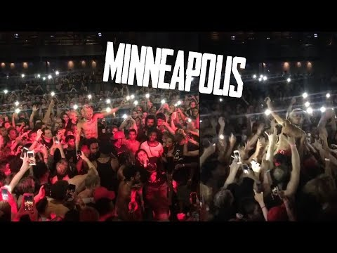 XXXTentacion - Live performance (MINNEAPOLIS - THE REVENGE TOUR) + C.R.A.Z.Y
