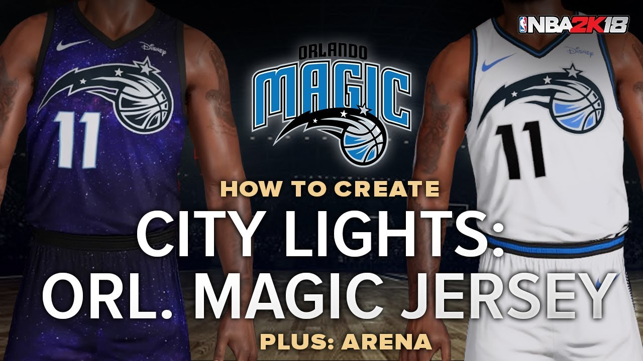 online store fd232 c5397 NBA 2k | Orlando Magic City Lights Jersey and Arena Tutorial Myteam Pro-AM