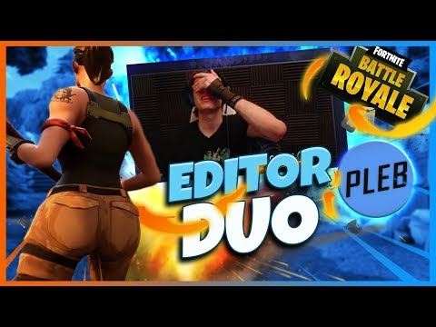 VOICE COMS WITH MY EDITOR |  FORTNITE GAMEPLAY  - BunnyFuFuu
