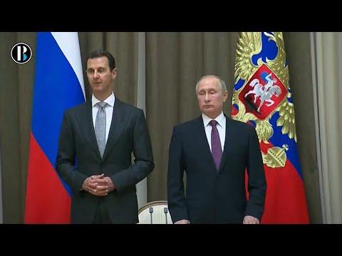 Putin y Asad analizan en Rusia la guerra siria